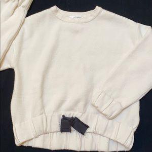 MOVING SALE! Zara Fancy Knit Sweater, size 8